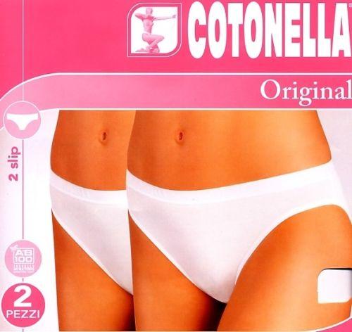 3 Slip donna laltra Cotonella 3940 5 taglia Nero