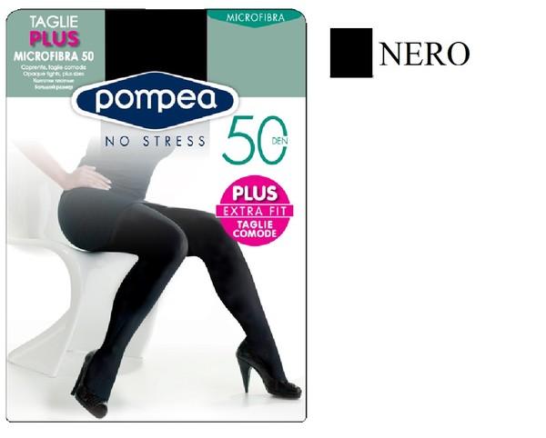 POMPEA CALZINO 100 MICROFIBRA SOFT DONNA NERO