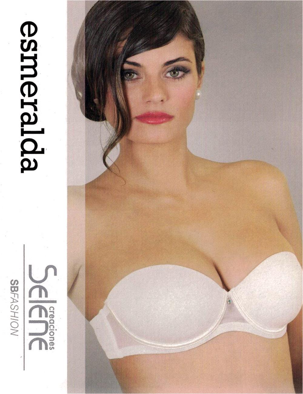 f3d76b610288 REGGISENO SELENE ART. ESMERALDA IN TULLE CON FERRETTO SENZA SPALLINE ...
